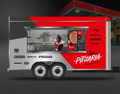 Pit-zaria Drive-Truck / Nome e Identidade Visual