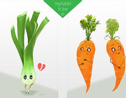Vegetables in Love