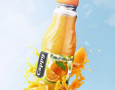 Cappy Orange Juice Advert