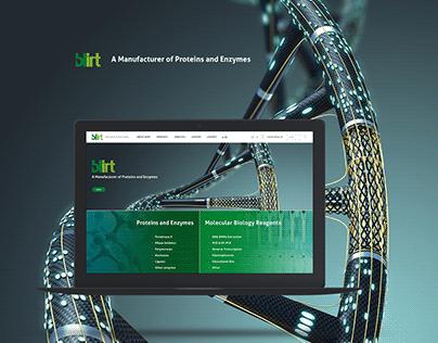 Blirt website