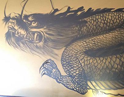 3 Murals - Nome Izakaya - Toronto,ON.