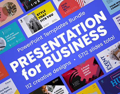 Presentation PowerPoint Template Bundle