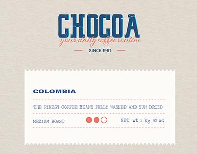 Chocoa Coffee Co (Concept)