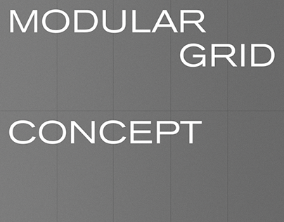 Modular grid — concept