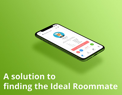 Finding Roommates - UX Research and App Design