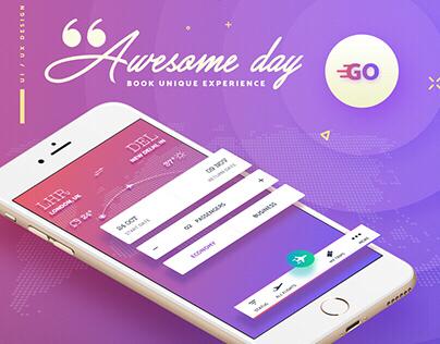 GO Flight app Concept • UI/UX