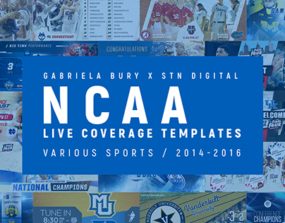 NCAA Live Coverage Templates