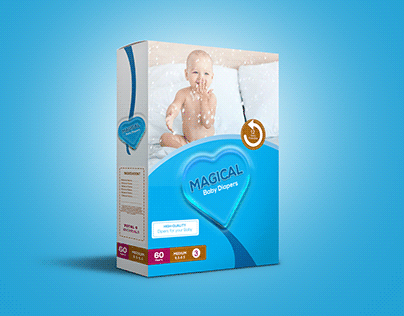 Product Box Packaging Design