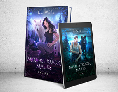 Moonstruck Mates Cover art & Design