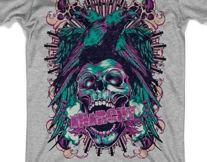 T-shirt designs - Tattoo style