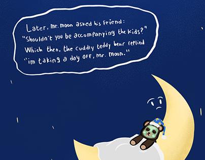 The Teddy Bear and The Moon
