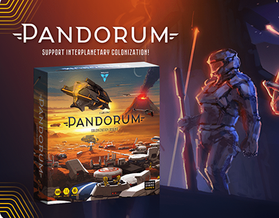 Pandorum Board Game