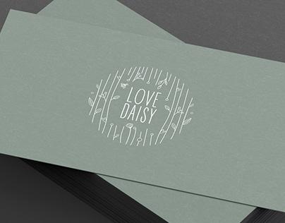 Brand design, Client: Love Daisy, UK