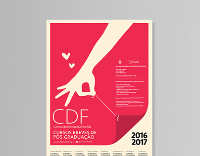 CDF / University of Coimbra / Poster Design Project
