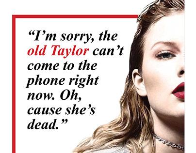 Taylor Swift Magazine (Semester 1)
