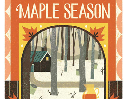 Maple Season Illustrations