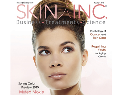 Skin Inc. magazine March 2015 cover