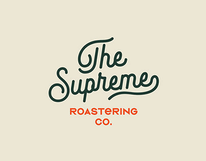 The Supreme Roastering Co. Branding