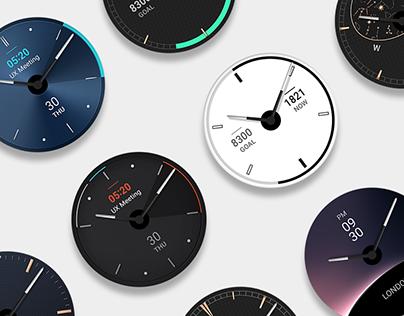 LG W4 Smart Watch GUI