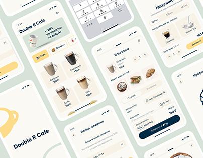 Double R Cafe   Mobile App UX/UI