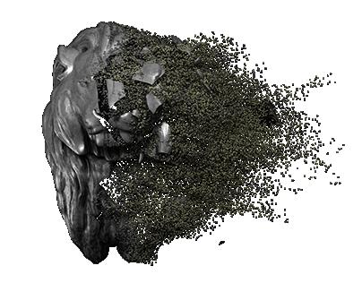 Thanos Particles VFX