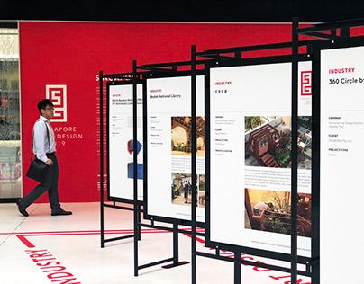 Singapore Good Design 2019 Exhibition Graphics