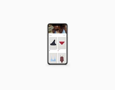 Conceptual UI for COS Mobile App