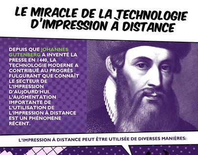 L'impression à distance révolutionne de technologie
