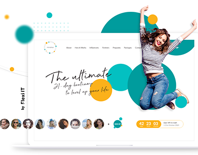Landing Page for Healthcare company