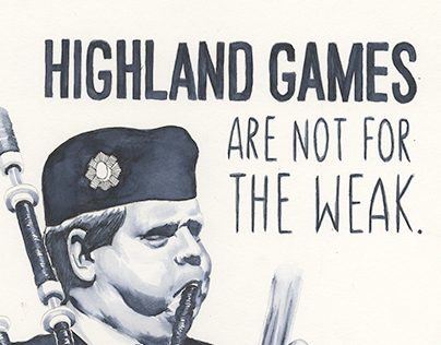 Highland Games are Not for the Weak