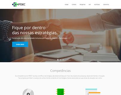 Site Instituto IPDEC