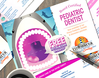 Tidewater Dental Hand Puppet Mailer