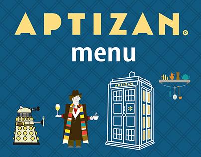 ARTIZAN menu