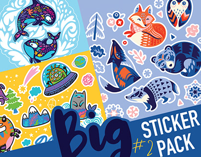 Big sticker pack #2