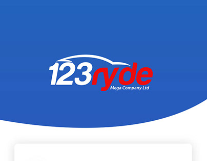 123 Ryde Pick and Drop parcel delivery App UI kit