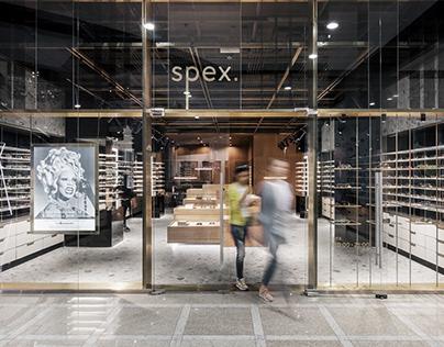 Spex optical store identity