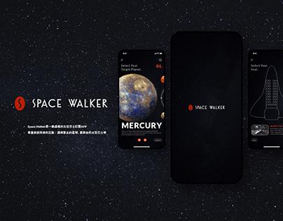 【UI/ Mobile/ Branding】Space Walker