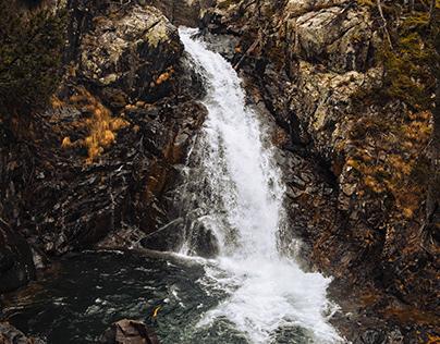 Benasque waterfalls