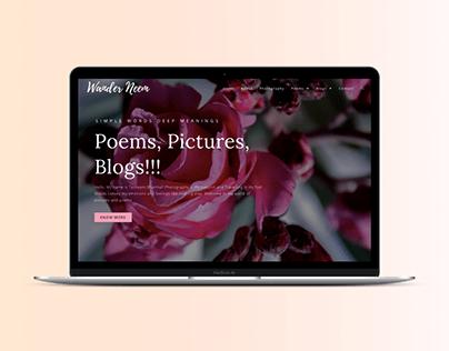 Wander Neem - Website Design & Branding