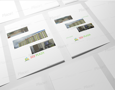 102 Plaza Pamphlet Design