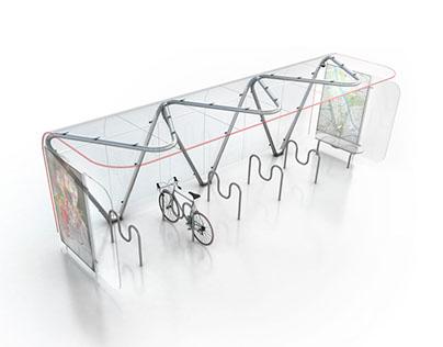 Modular parking for bicycles