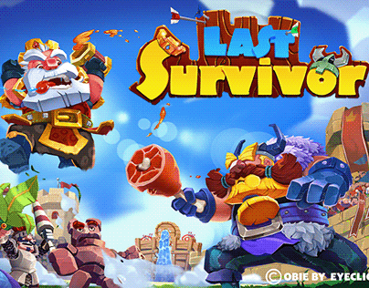 LAST SURVIVOR game | Illustration | Animation