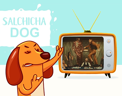 Salchicha Dog - Telegram Animated Stickers