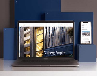 Appartment Building Website, UI/UX