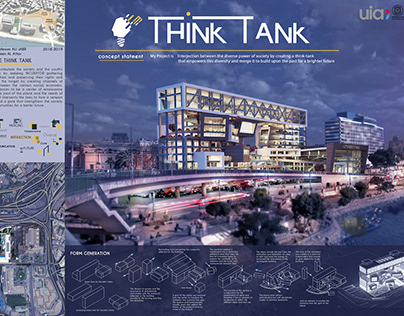 my graduated project THINK TANK Business incubator A+