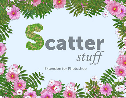 Scatter Stuff (Photoshop Extension)