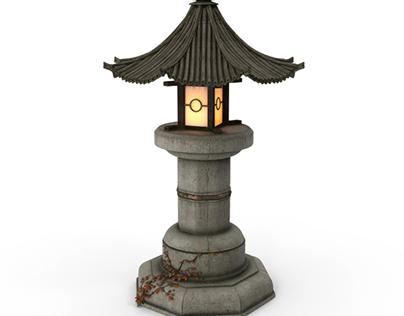 Asian Garden Lamp