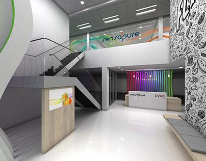 Sensapure Lobby Design