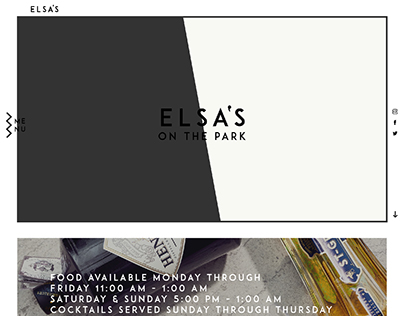 Elsa's Website - Redesign