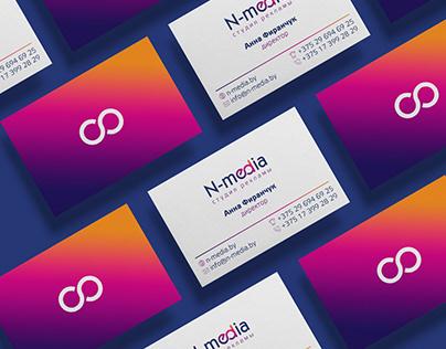 N-Media / logo & identity design